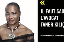 Barbara Hendricks devient la marraine de Taner Kiliç