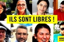 Libération conditionnelle de défenseurs des droits humains