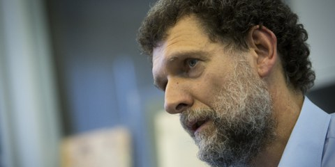 Osman Kavala est en détention depuis près de deux ans et demi sans raison. © Kerem Uzel/NARPHOTOS