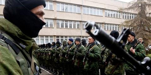 Le groupe armé baptisé «République populaire de Donetsk» a adopté un «Code pénal» le 17 août 2014, qui prévoit la «peine de mort». © Vasily Fedosenko / Reuters