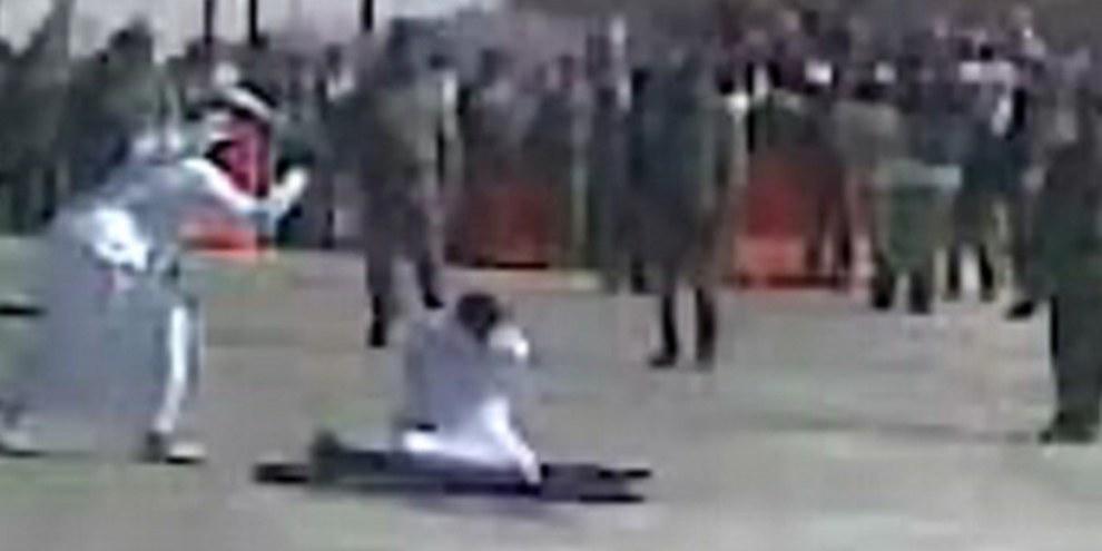 Décapitation en public en Arabie saoudite, 2008. © Privé