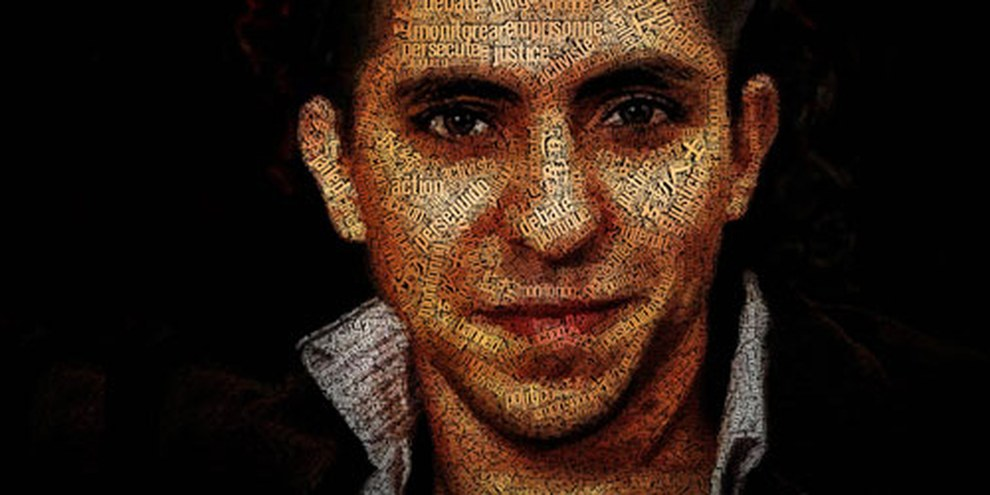 Le 9 janvier 2015, Raif Badawi a reçu cinquante flagellations en public après la prière du vendredi sur une place de Djedda, ce qui a suscité l'indignation de la communauté internationale. © Amnesty International