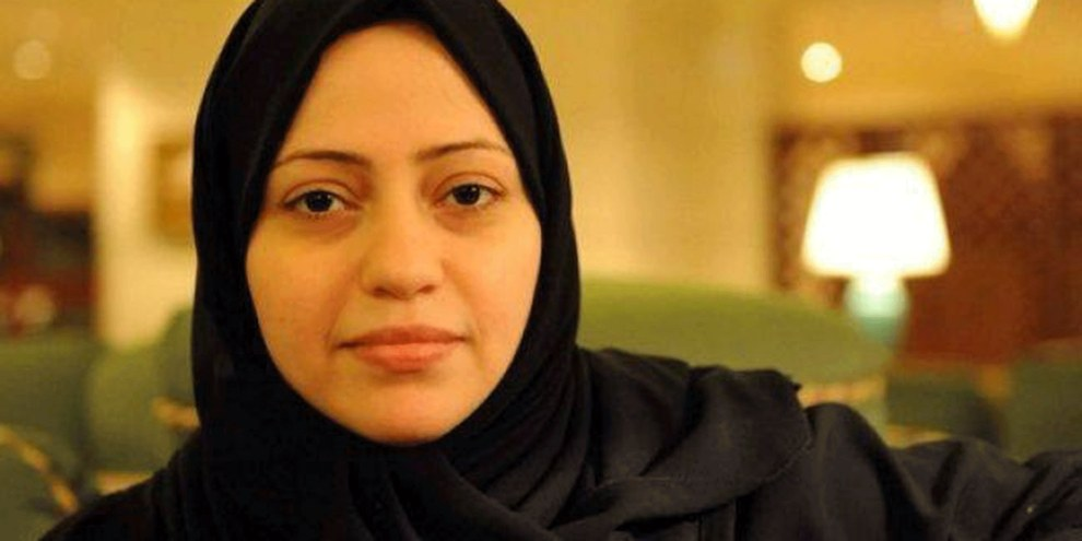 Samar Badawi est la sœur de Raif Badawi, condamné à 1 000 coups de fouet et 10 ans de prison pour avoir créé un site internet dédié au débat public. © DR
