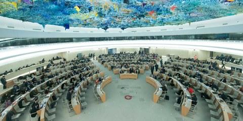 Depuis que l'Arabie saoudite fait partie du Conseil des droits de l'homme, son bilan désastreux en matière de droits humains n'a cessé de se dégrader dans le pays. © UN Photo