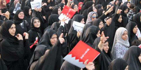 Manifestations à Manama début 2011 pour réclamer des réformes. © AI