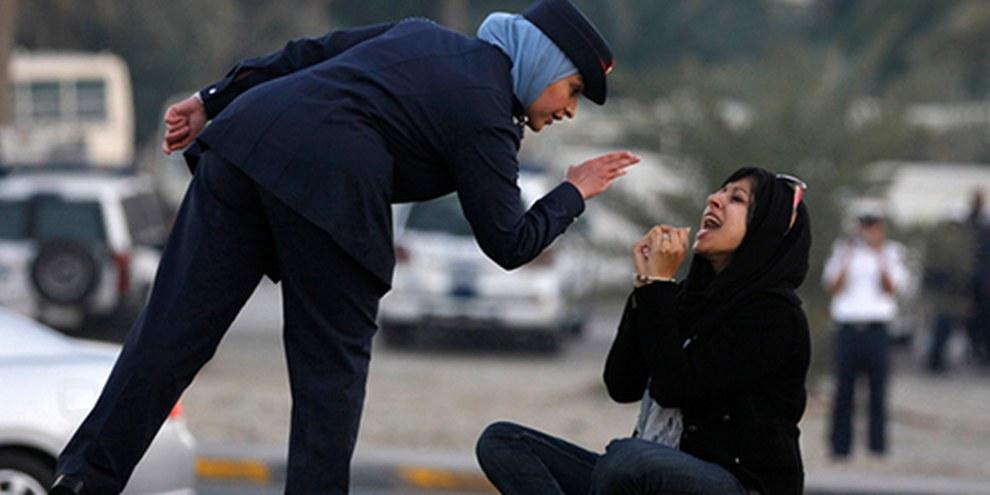 La militante Zainab Al Khawaja, a été condamnée en janvier à quatre mois d'emprisonnement pour «destruction de biens publics» © REUTERS/Hamad I Mohammed