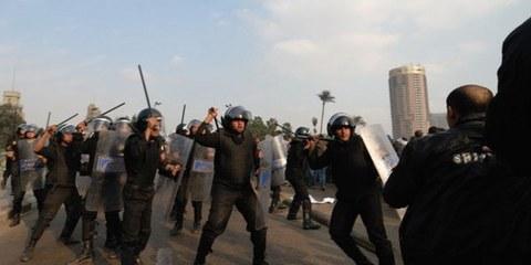 Les affrontements de novembre 2011 rappellent ceux du 25 janvier. © Demotix / Nour El Refai