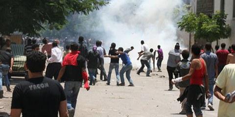 L'armée et la police doivent répondre des violations commises lors des manifestations. © Omnia E. Al Desoukie