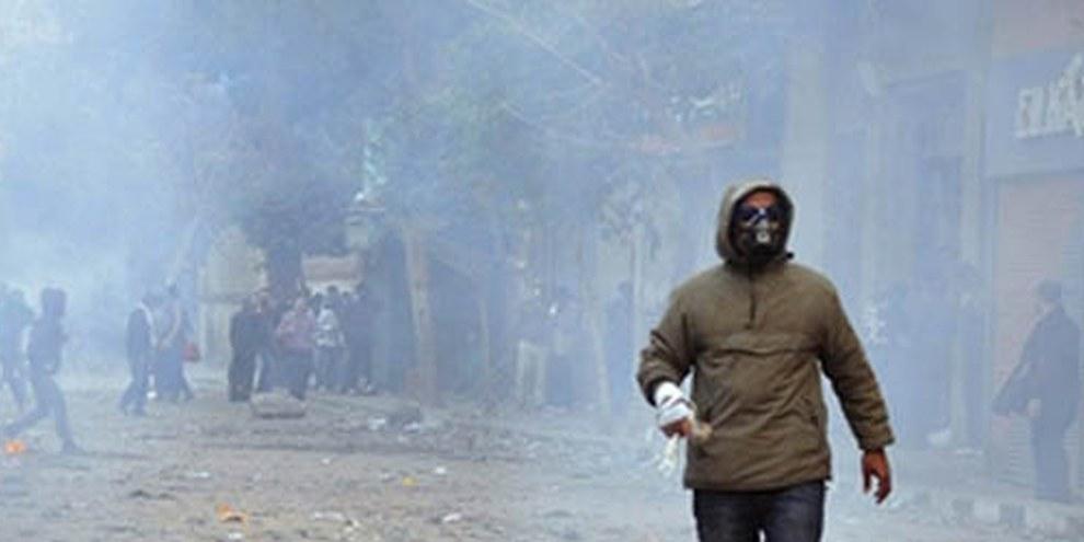 La place Tahrir en novembre 2011. Aujourd'hui, les manifestations reprennent. © Demotix/Nameer Galal