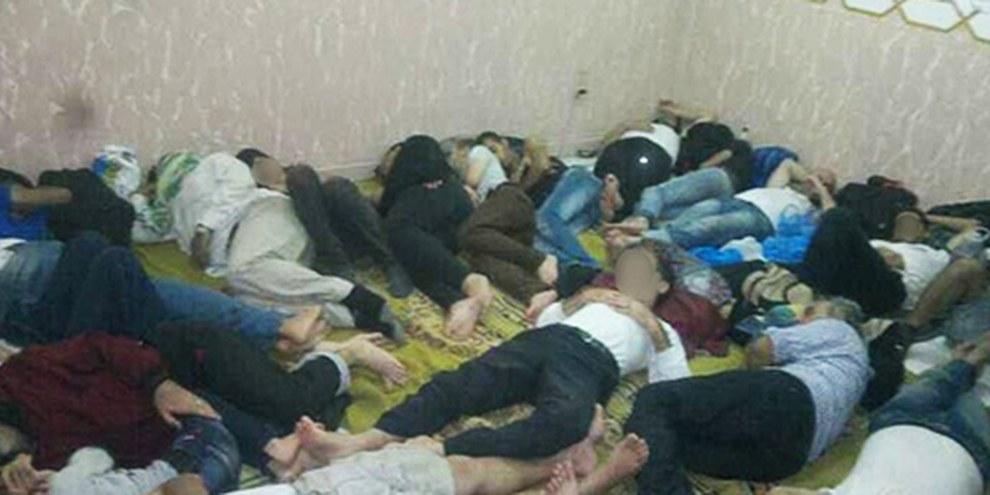 Des centaines de réfugiés provenant de Syrie sont illégalement détenus dans des postes de police à Alexandrie. © DR