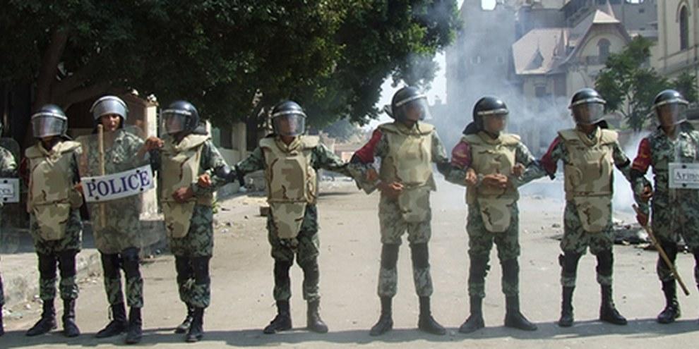 Le bilan imputable aux forces de sécurité égyptiennes s'est encore alourdi. © Omnia E. Al Desoukie