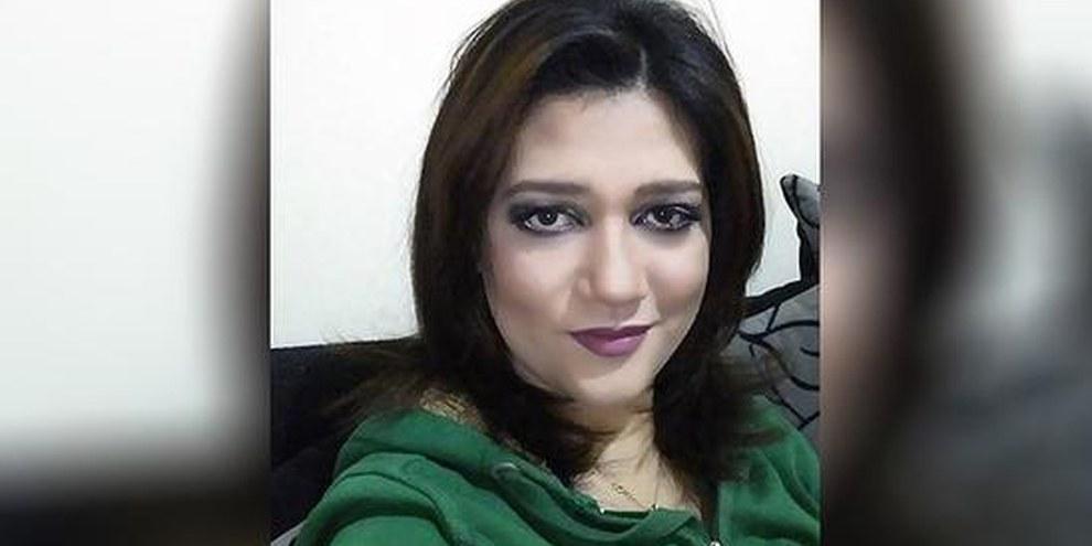 Amal Fathy a été arrêtée au Caire le 11 mai, après avoir publié sur les réseaux sociaux une vidéo dénonçant le harcèlement sexuel et l'inaction des autorités. © DR