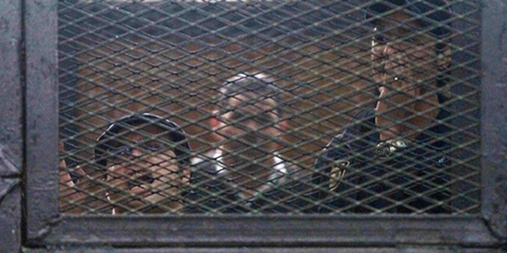 En Égypte, il est déjà très risqué de militer contre les autorités. Les propositions de loi pourraient mener à l'incrimination de manifestations non violentes. © HASSAN MOHAMED/AFP/Getty Images