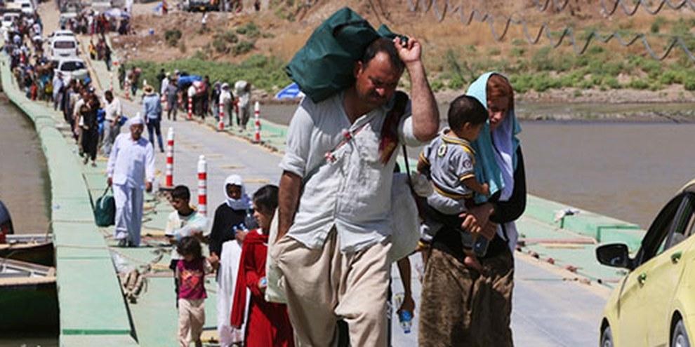 L'EIIL mène des attaques systématiques contre les communautés minoritaires notamment les Yézidis. © AHMAD AL-RUBAYE/AFP/Getty Images