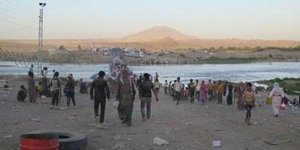 Les massacres et les enlèvements auxquels procède l'État islamique prouvent une nouvelle fois qu'une vague de nettoyage ethnique visant les minorités balaye le nord de l'Irak. © Amnesty International