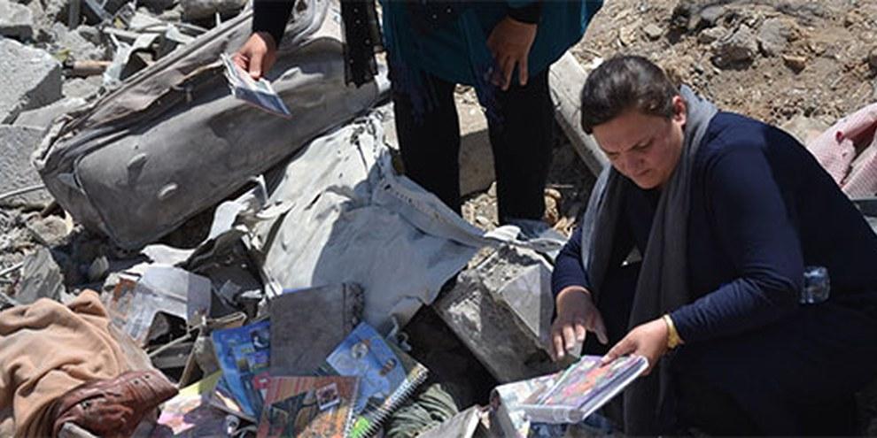 Les éléments recueillis par Amnesty International au village de Zergele laissent penser que les personnes tuées et blessées dans l'attaque n'étaient pas en lien avec le PKK. | © Amnesty International