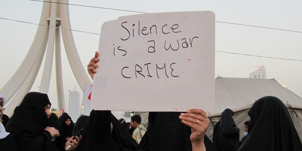 Bahrain, Février 2011. © Amnesty International