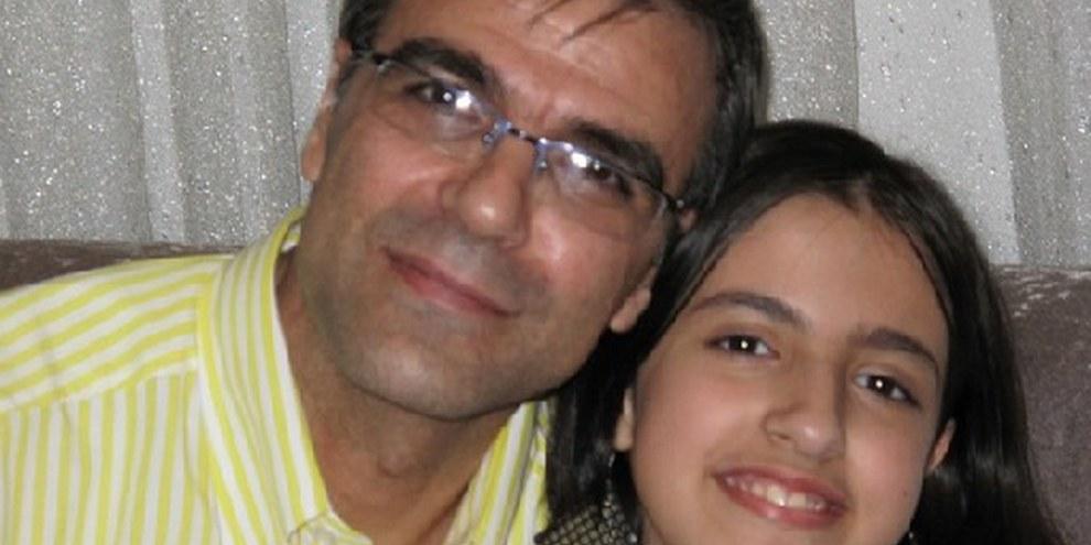 Reza et Mehraveh Khandan, le mari et la fille de Nasrin Sotoudeh. © privé