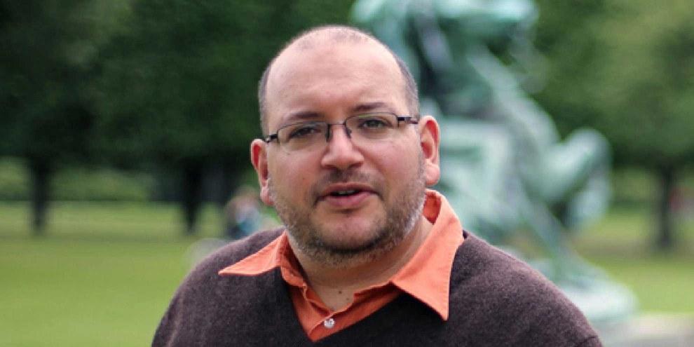 Le journaliste est accusé d'espionnage et de «propagande contre le système», alors que son arrestation est clairement motivée par une volonté d'écraser la diffusion d'informations indépendantes en Iran.   © freejasonandyegi.com