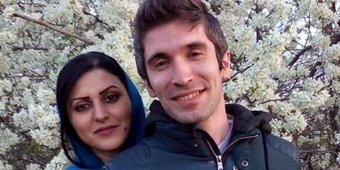 Le défenseur et la défenseuse des droits humains Arash Sadeghi et Golrokh Ebrahimi Iraee. © Droits réservés