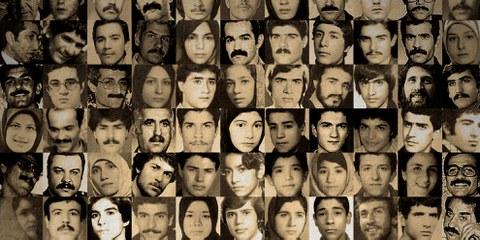 Les prisonniers executés en 1988. © Droits réservés