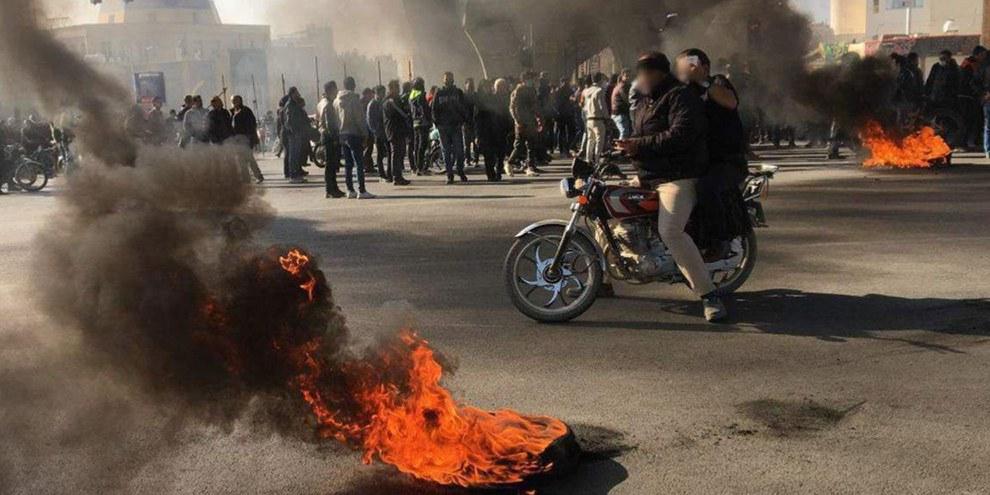 Les manifestations de novembre ont entrainé une féroce répression. © Privé