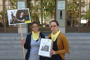 Un million de personnes demandent la libération de Nasrin Sotoudeh