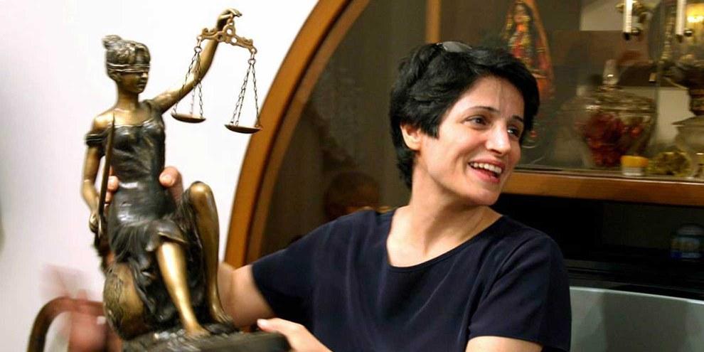 L'avocate et défenseure des droits humains Nasrin Sotoudeh. © privat
