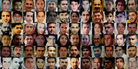 Plus de 7000 personnes ont été arrêtées pendant et après les manifestations de novembre 2019 en Iran. Beaucoup ont été torturées, maltraitées ou ont disparu depuis lors. La Suisse doit s'exprimer clairement contre les violations des droits humains en Iran.© AI