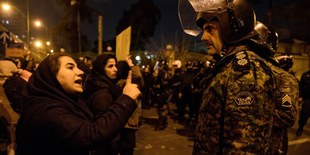 Iran protests January  2020