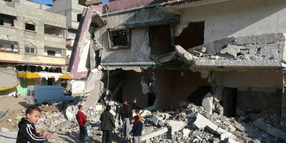 Les tirs de roquette sur Gaza avait déjà eu des conséquences désastreuses pour les civils en 2009. © AI