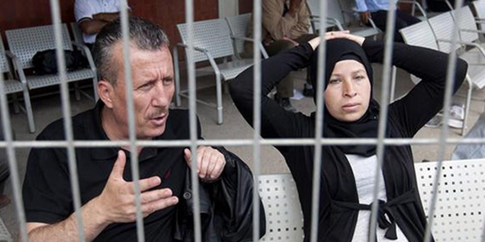 La militante et son mari ont subi des descentes à leur domicile. © AHMAD GHARABLI / AFP / GettyImages