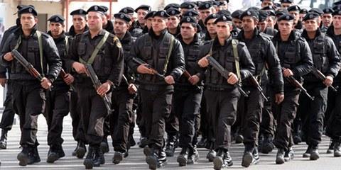 Les forces de sécurité cisjordaniennes sont connues pour réprimer brutalement les manifestations. © MaanImages / Magnus Johansson