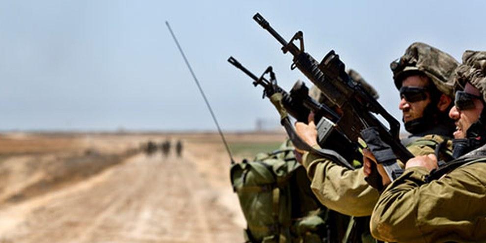 Depuis 2012, les États-Unis ont exporté pour 276 millions de dollars d'armes et de munitions d'usage courant vers Israël. © EPA OLIVER WEIKEN / EPA