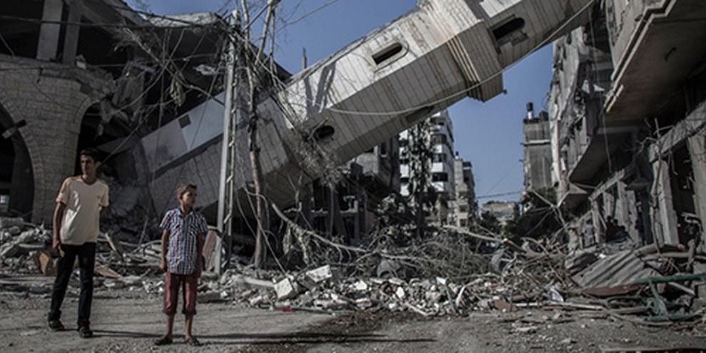 Les défenseurs des droits humains doivent accéder à Gaza pour enquêter sur les allégations de crimes de guerre © EPA OLIVER WEIKEN