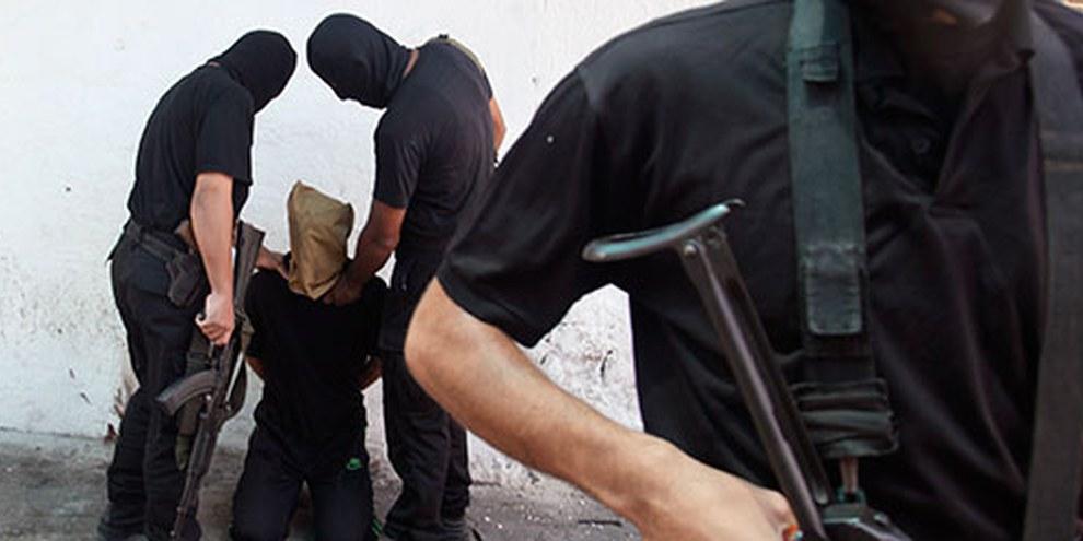 Le Hamas arrête un homme suspecté de collaboration avec Israël.  © REUTERS