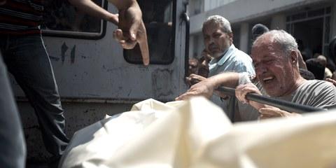Entre le 1er octobre et le 14 octobre 2015, au moins 27 Palestiniens et 7 Israéliens sont morts, suite aux violences en territoires palestiniens occupés. © AFP/Getty Images