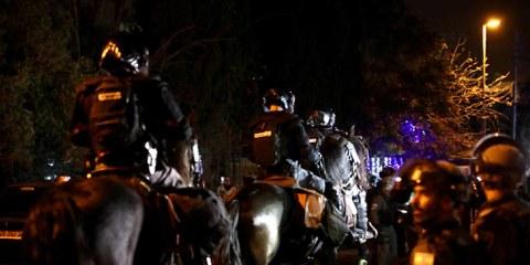 La police israélienne a recouru contre des Palestiniens à des arrestations discriminatoires, à la torture et à une force illégale, dénonce Amnesty International dans un nouveau rapport. © Amnesty International