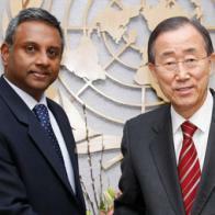 Salil Shetty a invité les Nations unies à accorder la priorité aux droits humains au Moyen-Orient. © UN Photo/Paulo Filgueiras