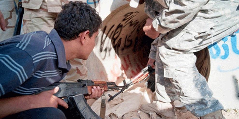 Le colonel Kadhafi est mort après avoir été retrouvé tapi dans un conduit d'égout.© AP