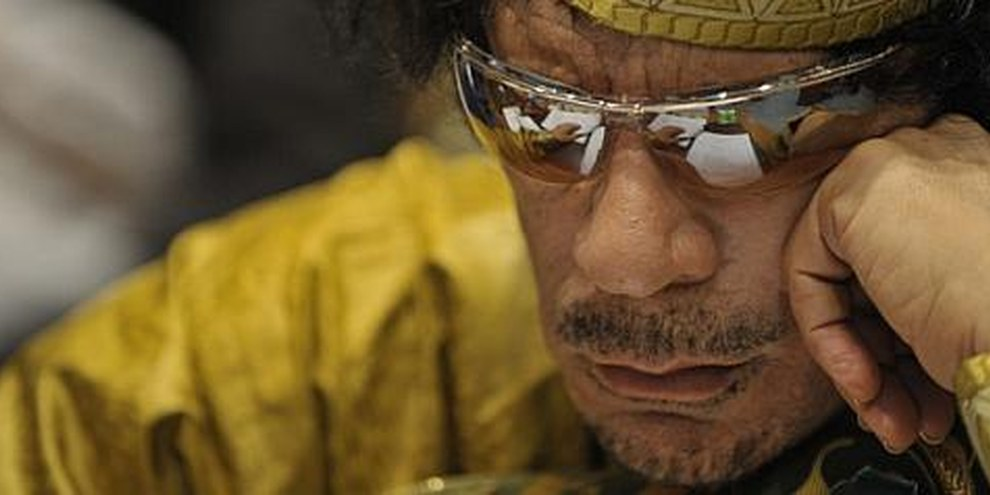Le colonel Mouammar Kadhafi. © US DoD