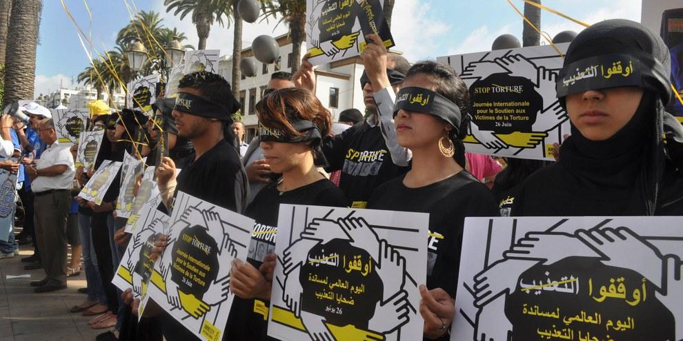 Au Maroc, le déficit d'enquêtes judiciaires alimente la torture et renforce le sentiment d'impunité. © Amnesty International