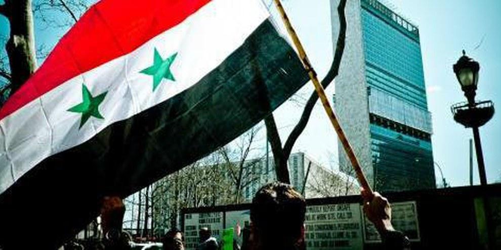 Manifestation de solidarité devant l'ONU à New-York © Demotix