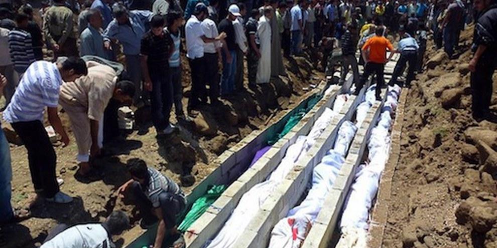 Le massacre survenu à Houla est un triste exemple des crimes commis impunément en Syrie. © Sniperphoto.co.uk/Demotix