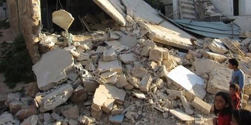 De nombreux homicides ont été perpétrés lorsque la ville de Taftanaz a été attaquée par l'armée syrienne en avril 2012.© AI