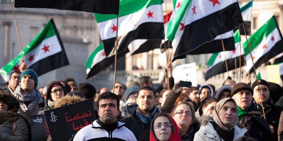 Plus de soixantes pays «Amis de la Syrie» ont appelé vendredi 24 février 2012 à l'arrêt immédiat des violences en Syrie.  © (photo: Imran Uppal)