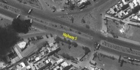 Des images satellite d'Alep en juillet / août 2012 © Digital Globe 2012