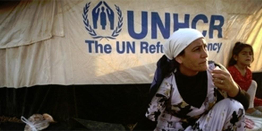 Le HCR a annoncé que le nombre de réfugiés du conflit armé syrien avait dépassé les deux millions. © SAFIN HAMED/AFP/Getty Images