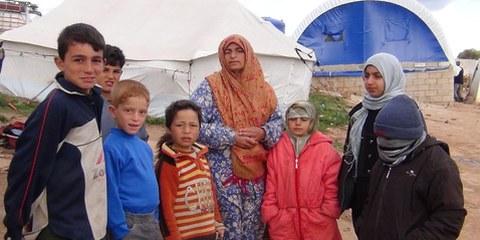 Le conflit en Syrie se double d'une crise humanitaire. © AI