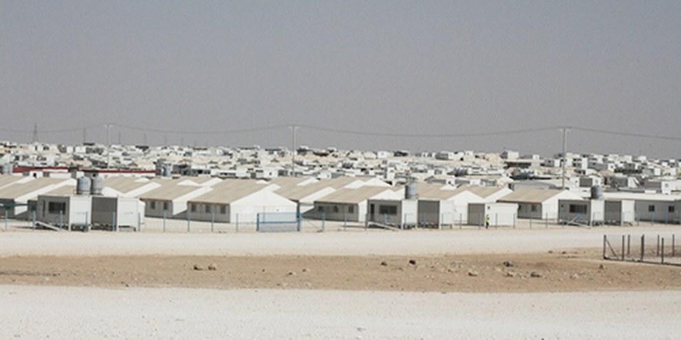 L'UE laisse les pays limitrophes absorber la plupart des réfugiés syriens. © AI